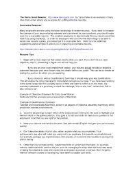 A Good Summary For A Resumes Good Entry Level Resume Finance Examples Inside Professional Summary