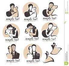 Wedding Couple Logo Stock Image Image 22808761
