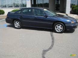 2002 Navy Blue Metallic Chevrolet Impala LS #13941579 | GTCarLot ...