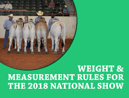 See more ideas about cattle, showing livestock and cattle farming. Weight Measurements Rules For The 2018 National Brahman Show The Brahman Journal