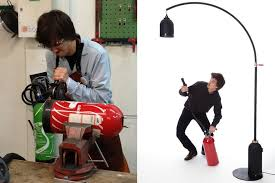 samuel bernier s project on the other hand is a bit more robust the diyer extraordinaire recently posted a detailed instructable for a fire extinguisher
