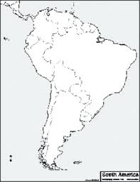 Blank Map Best Photos Of South Outline Within Latin America Quiz