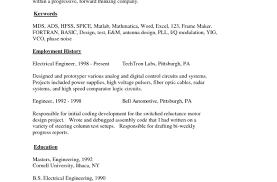 Outline Of A Resume 5 Dance Resume Outline Resume Outline Resume