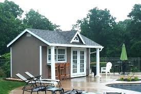 small pool shed. Small Pool Shed I