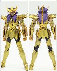 metal club metalclub mc saint seiya scorpio milo glod saint myth cloth gold ex action figure model toy metal armor in action toy figures from toys