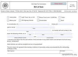 utah auto bill of sale blank bill of sale for automobile printable atv bill of
