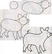 baby piglet drawings. Interesting Piglet Baby Piglet Drawings Throughout