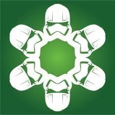 captain phasma star wars snowflake