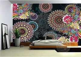 paisley wall art charming paisley pattern flowers wallpaper photo wallpaper custom mural painting wall art room paisley wall art