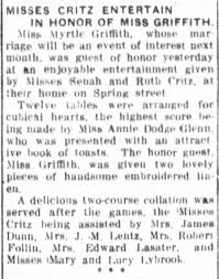 myrtle griffith - Newspapers.com