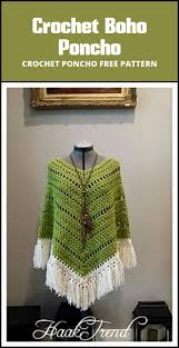 Free Crochet Poncho Pattern Cool Inspiration Design