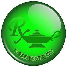 Pharmacy genie lamp logo clipart image - ipharmd.net