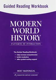 World History Patterns Of Interaction Answer Key Awesome Modern World History Patterns of Interaction Guided Reading