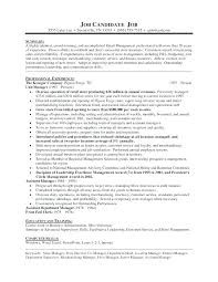 Resume For Grocery Store Store Manager Resume Examples Sample Resume