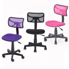 office chair for kids. Adjustable Mid-back Mesh Office Computer Task Chair Student Kids Swivel Chairs For