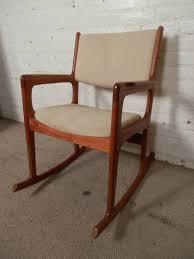 Rocking Chair Modern vintage midcentury modern rocking chair by benny linden for sale 8100 by uwakikaiketsu.us