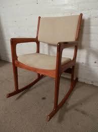 vintage mid century modern rocking chair by benny linden in good condition for in