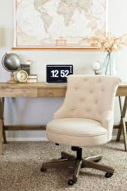 create a warm and neutral home office space with affordable finds from cost plus world market