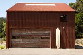 rustic garage doorsRustic garage doors shed industrial with ocean and mountain views