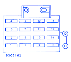 dodge fuse box diagrams 1990 example electrical wiring diagram \u2022 Dodge Dakota Fuse Box Location at Fuse Box For 1990 Dodge Dakota Le