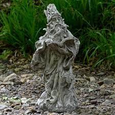 wizard green man gnome cast stone