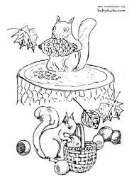 Das ausmalen bringt das kind zur geschicklichkeit bei. Herbst Ausmalbilder Herbstmotiv Herbstlaub Tiere Babyduda Malbuch