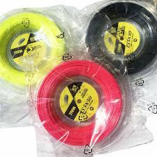 <b>1 Reel TAAN</b> TS5850 Tennis strings Spin polyester 10 angle hard ...