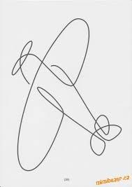 Letadlo Jedním Tahem ǵrafomotorika Nápady Na Kreslení