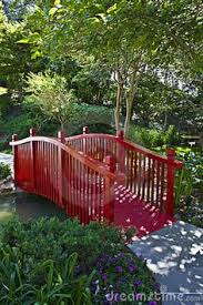 Small Picture Red Cedar Double Rail Bridge Japanese Bridge Walking Bridge