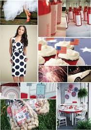 fourth of july wedding party fantastic 4th of july wedding Ideas For July 4th Summer Wedding need 4th of july ideas? this blog is just full of them junkgarden 4th of July Wedding Centerpieces