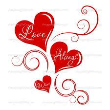 Heart Scrolls Svg Love Always Wins Valentines Day Svg Love Svg Heart Etsy