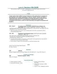 Nursing Resume Objectives Examples Registered Nurse Resume Sample