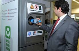Reverse Vending Machine Recycling Mesmerizing Big Business Sponsors Recycling Vending Machines In Lebanon Green