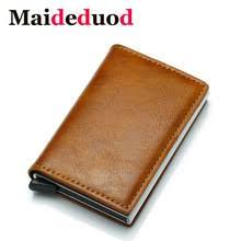 Мужской <b>кошелек</b> с защитой от кражи Maideduod, винтажный ...