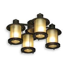 fl450 mission style ceiling fan light oil rubbed bronze fl450pw outdoor ceiling fan light kit