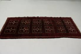 rich gallery red tribal runner balouch persian oriental area rug carpet 3 6x8