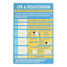Spa Chart 600x400mm Plastic Cpr Resuscitation Chart Drsabc Pool Spa Safety Sign Wall Sticker