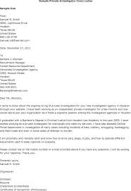 Awesome Collection Of Criminal Investigator Cover Letter Easy Fraud