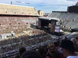 Ohio Stadium Concert Seating Chart Concert Photos At Ohio Stadium