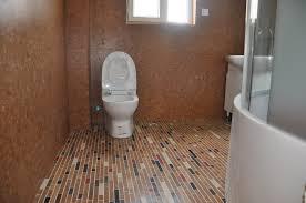 image of cork tiles for walls bathroom