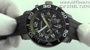 <b>Мужские</b> наручные <b>часы TW</b> STEEL TW74 - YouTube