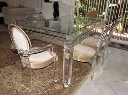 lucite dining table shapes