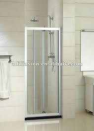 small folding glass shower doors view folding glass