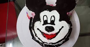 mickey mouse chocolate cake recipe by