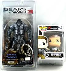 Neca Gears of War 3 Savage Theron w ...