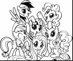 Small Picture astonishing my little pony coloring pages printable with pony