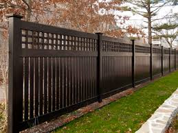 Black Wooden Fence Color Scheme