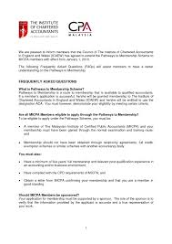 Sample Chartered Accountant Cover Letter Higher Education