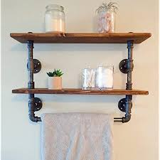 industrial retro wall mount pipe