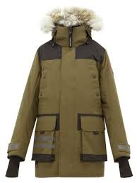 Erickson Hooded Down Filled Parka Canada Goose
